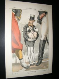 Vanity Fair Print 1869 Leopold II, King of the Belgians